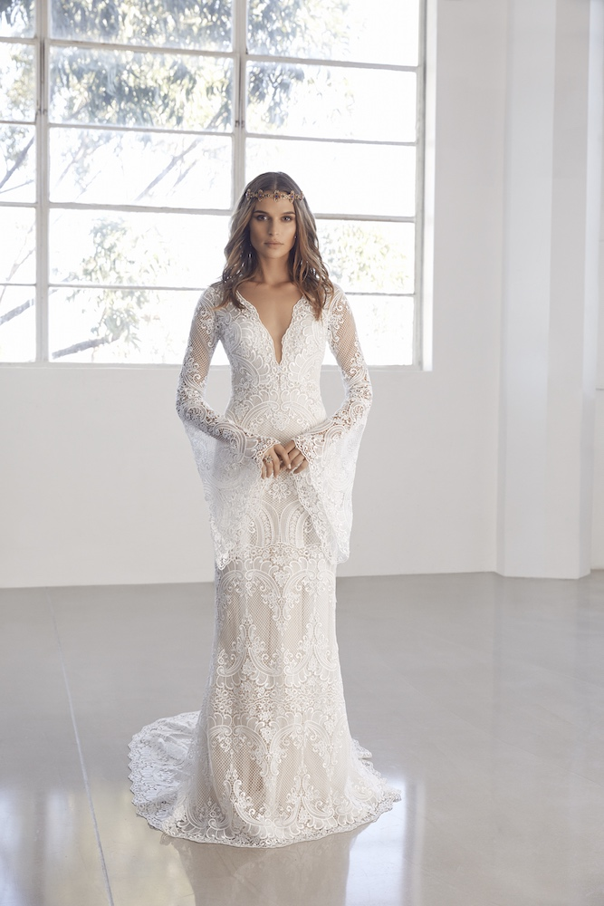 Suzanne Harward Asteria Wedding Dress as featured on LOVE FIND CO.