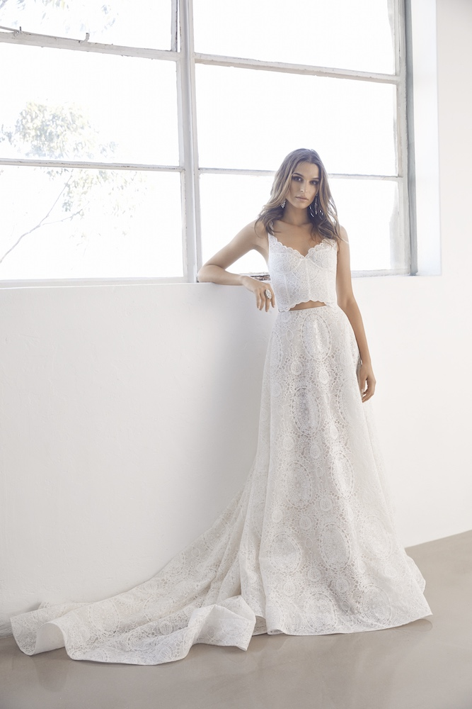 Suzanne Harward Atlas Wedding Dress as featured on LOVE FIND CO.