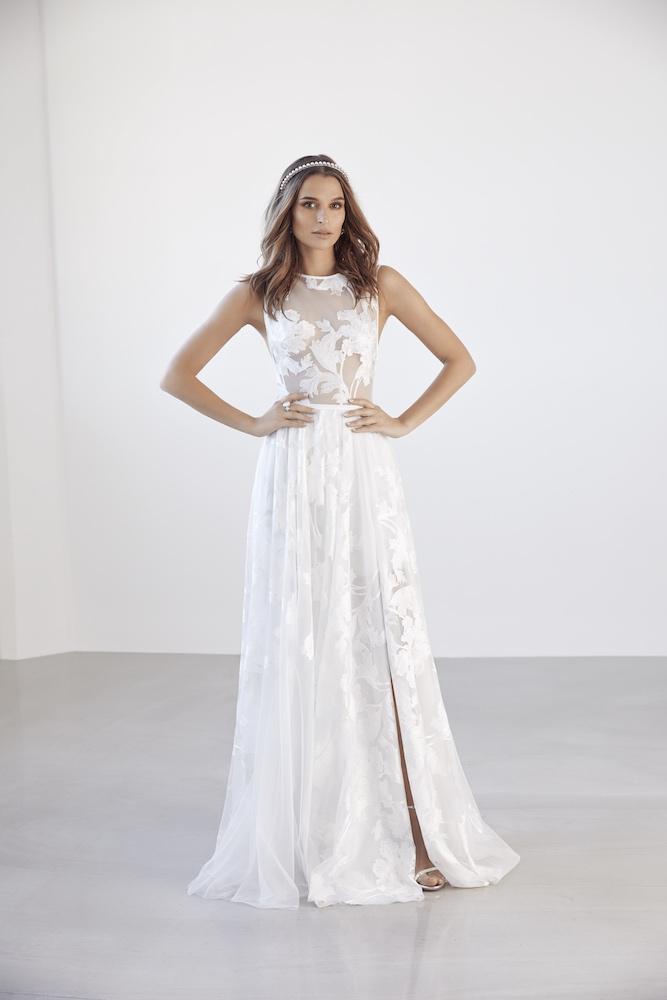 Suzanne Harward Fleur Wedding Dress as featured on LOVE FIND CO.