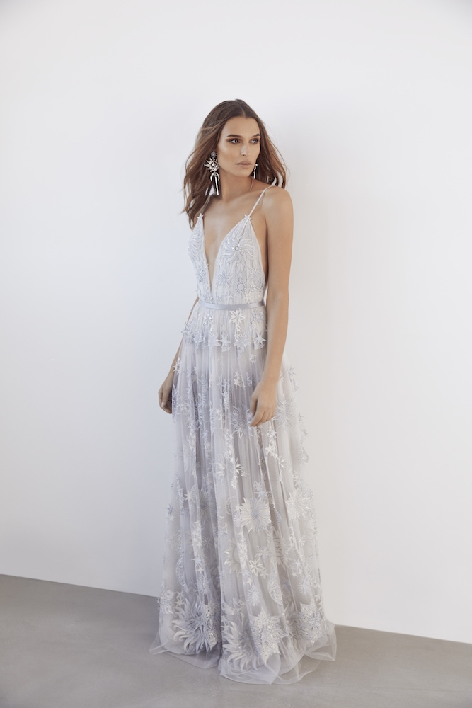 Suzanne Harward Stars & Moons Wedding Dress as featured on LOVE FIND CO.