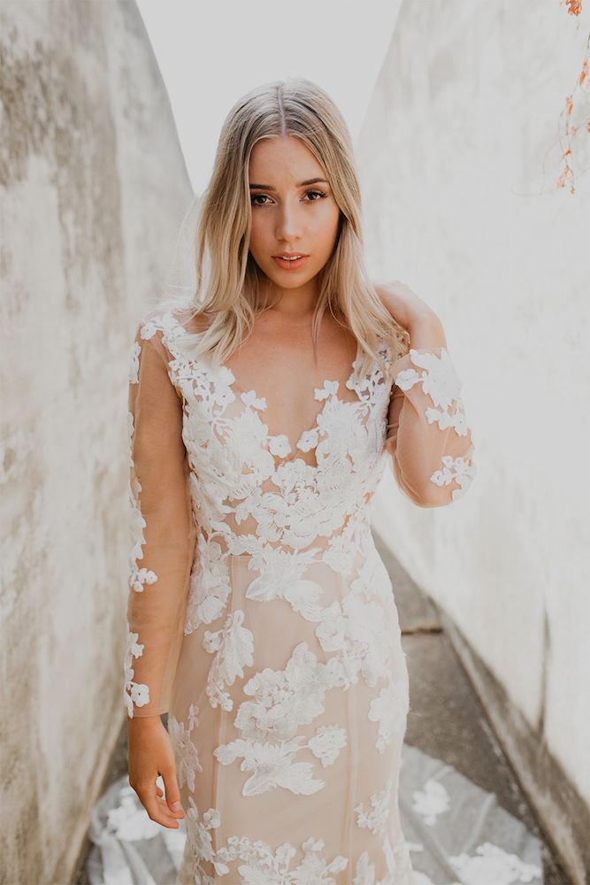 Vivienne Wedding Dress by Goddess Of Nature on LOVE FIND CO.