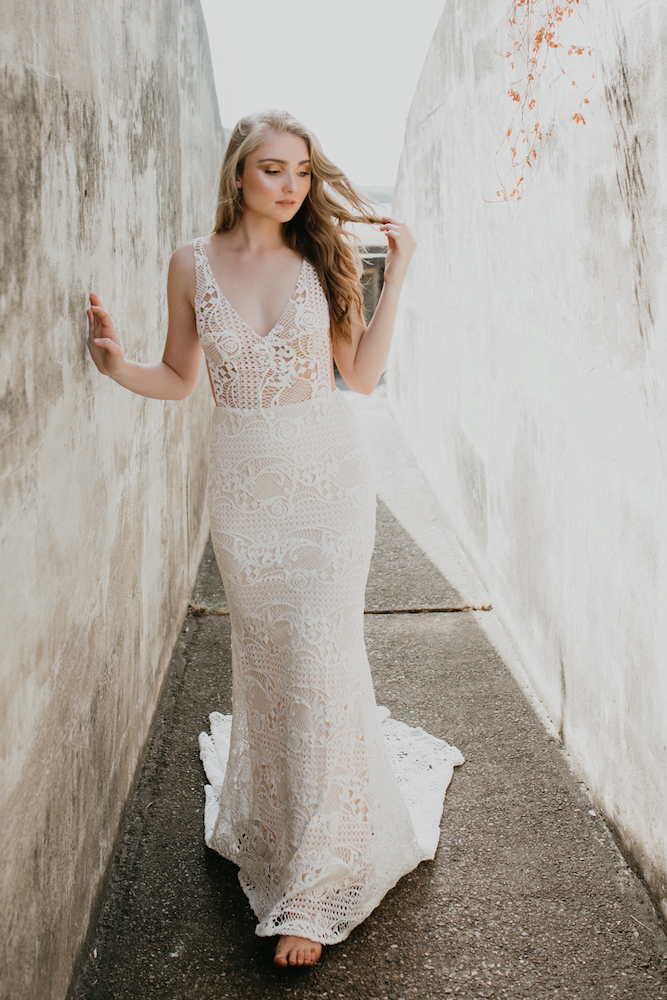 Dahlia Wedding Dress by Goddess Of Nature by LOVE FIND CO.
