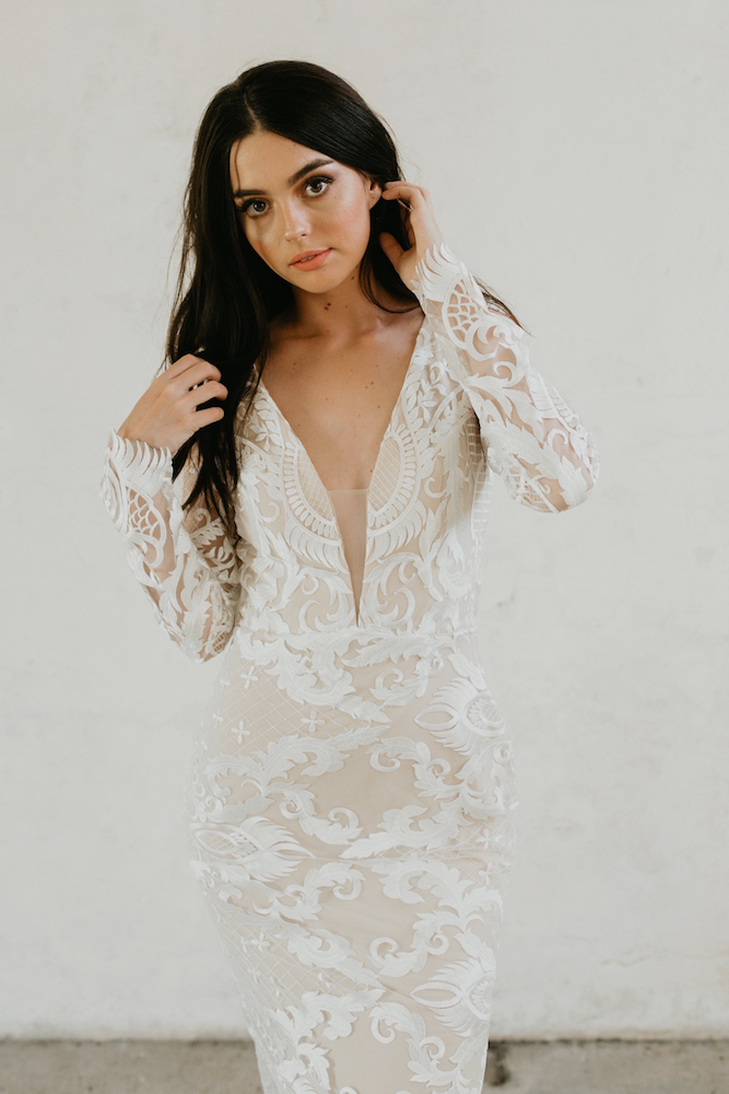 Isabella Wedding Dress by Goddess Of Nature by LOVE FIND CO.