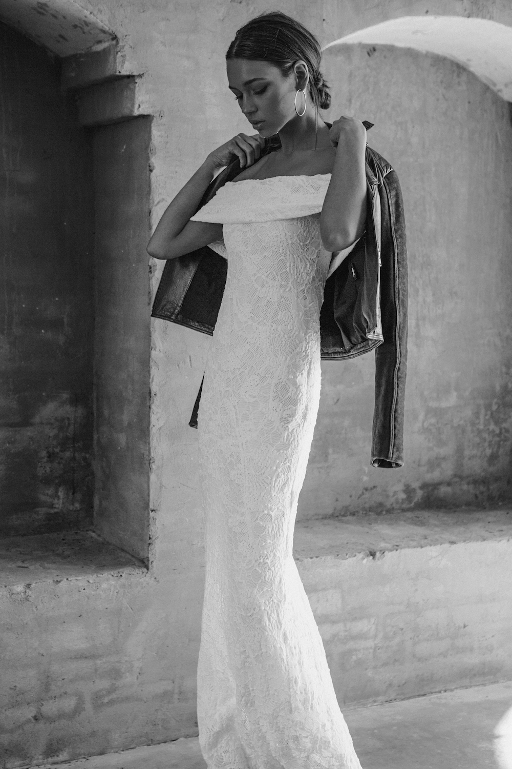 The HADLEY wedding dress from the Les Deux Capsule Collection by Grace Love Lace featured on LOVE FIND CO.