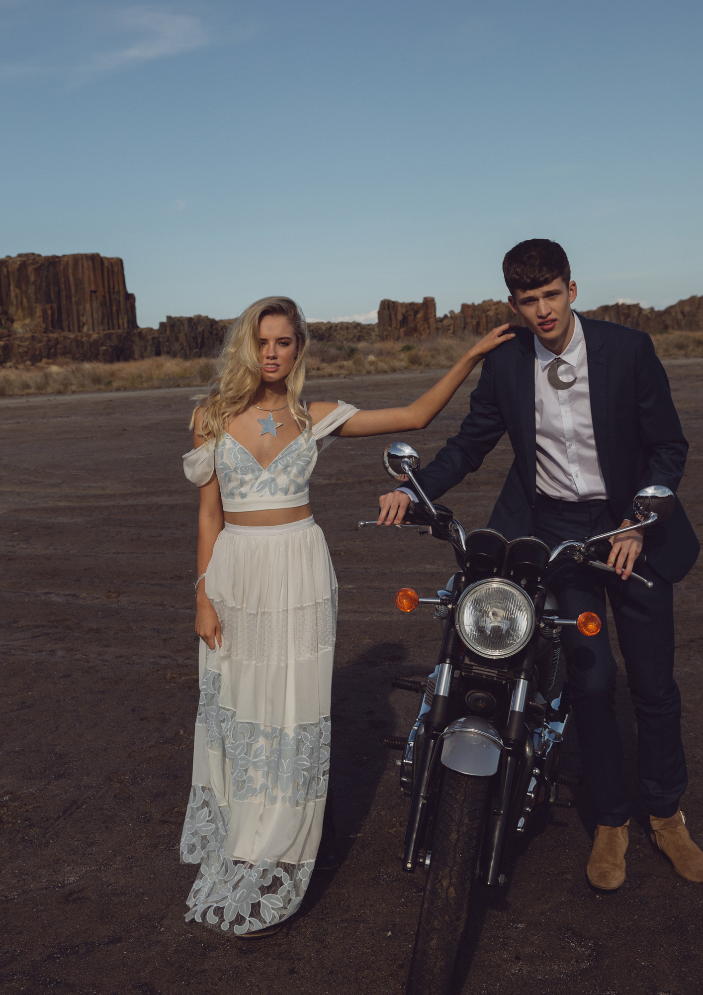 White Meadow Romantic Rebel Collection featured on LOVE FIND CO.