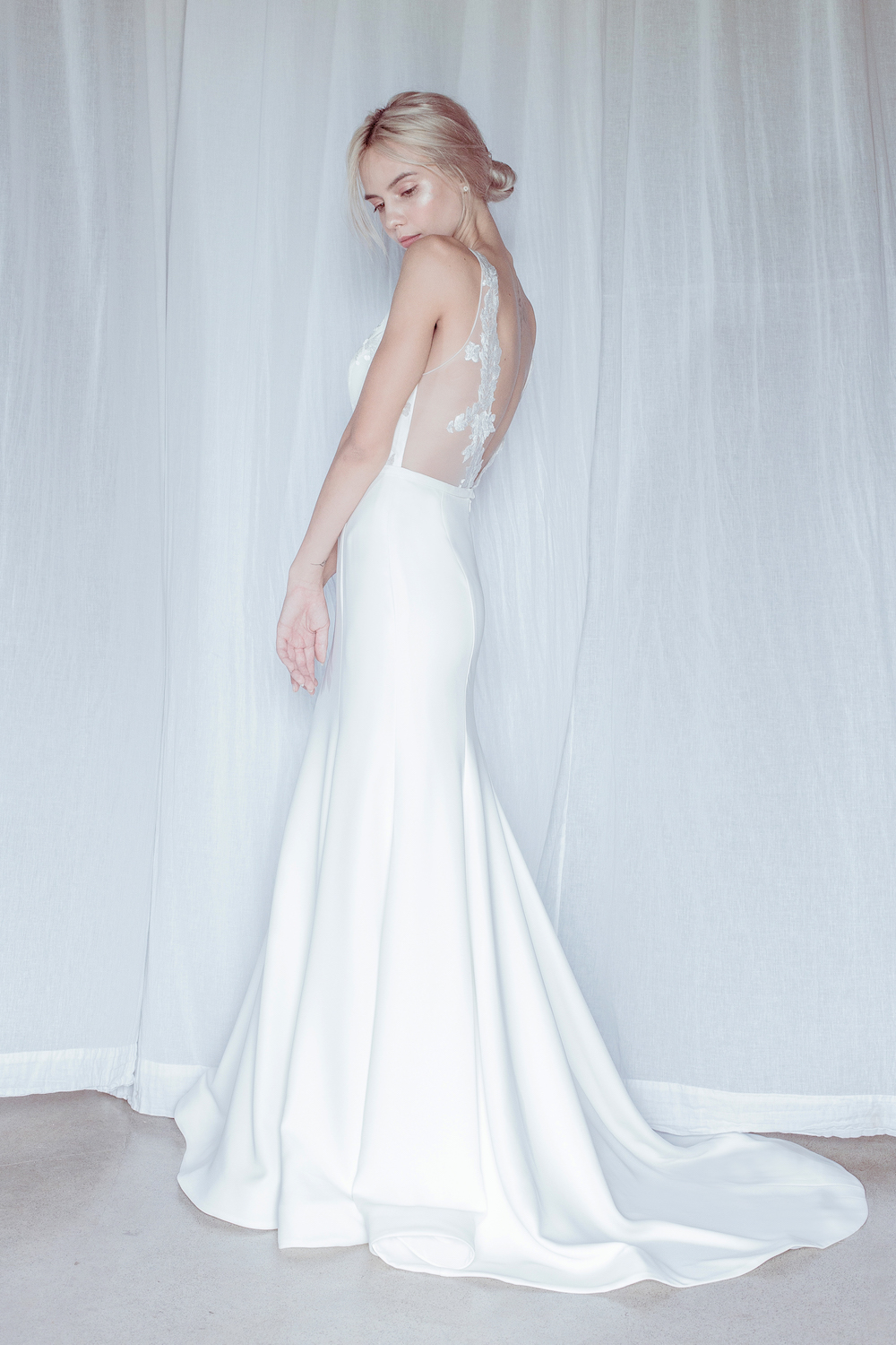Hamilton Wedding Dress by Oui The Label 2018 Stolen Moments Bridal Collection featured on LOVE FIND CO.