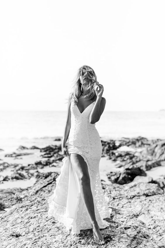 Made With Love lace wedding dress on LOVE FIND CO.