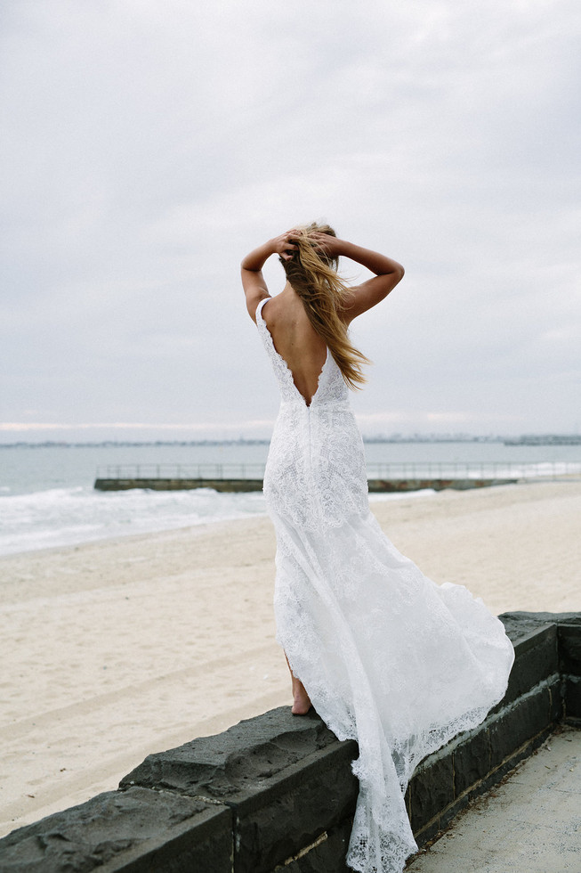 The La'Parisienne wedding dress by Marquise Bridal featured on LOVE FIND CO.