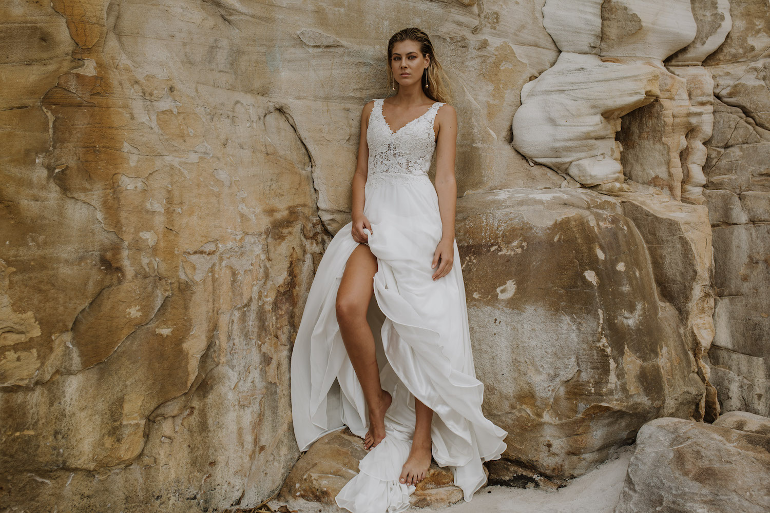 Snow Lotus wedding dress by Daisy Brides featured on LOVE FIND CO.