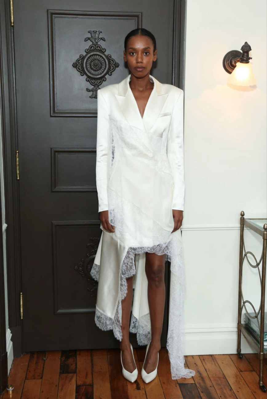 Short Wedding Dresses from the Spring 2019 Bridal Collection