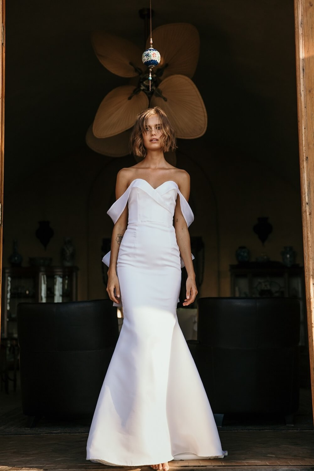 Fleeting Moments wedding dress by Jennifer Go Bridal featured on LOVE FIND CO.