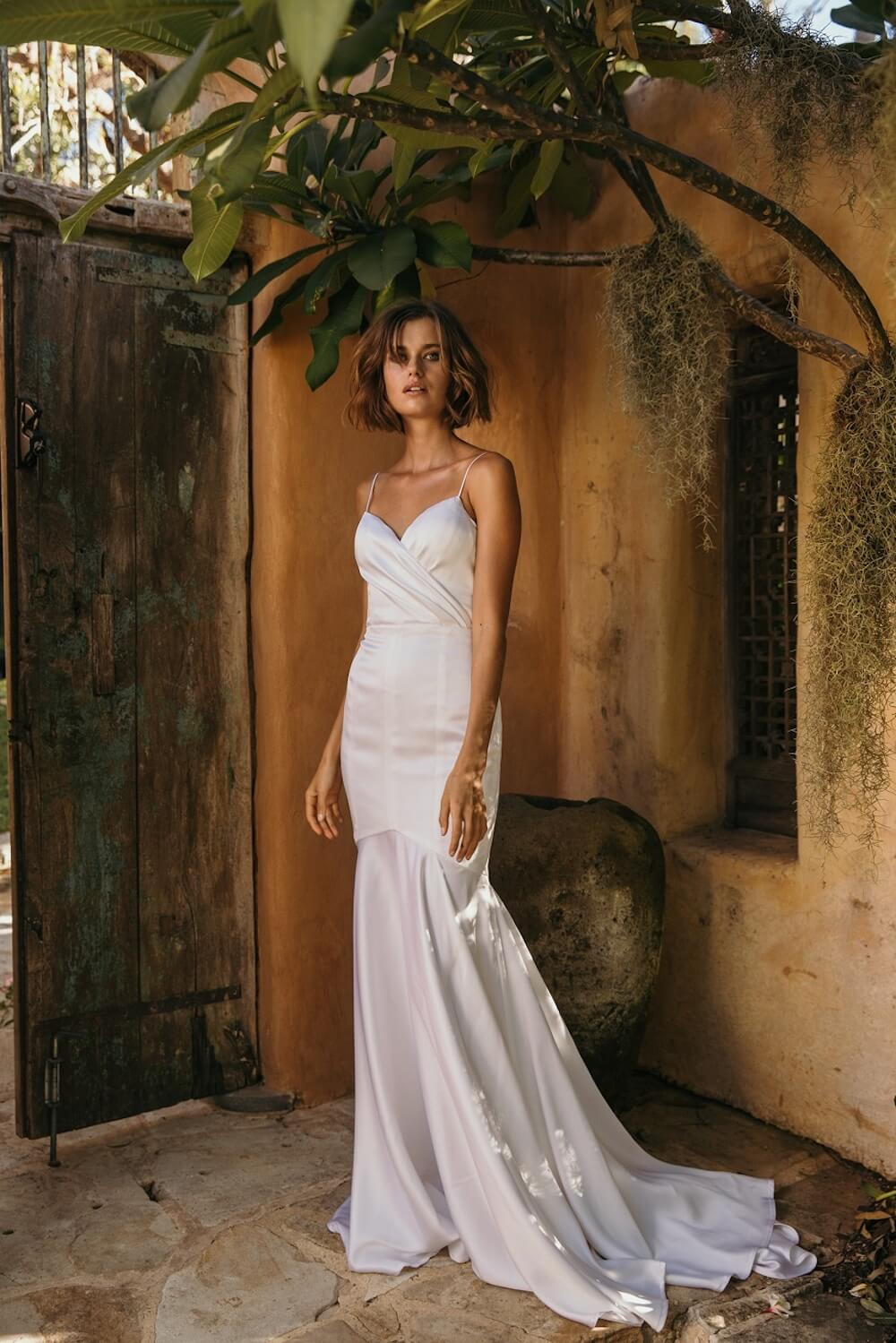 Wanderlust wedding dress by Jennifer Go Bridal featured on LOVE FIND CO.