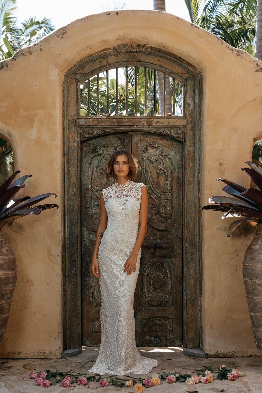 Breathless wedding dress by Jennifer Go Bridal featured on LOVE FIND CO.