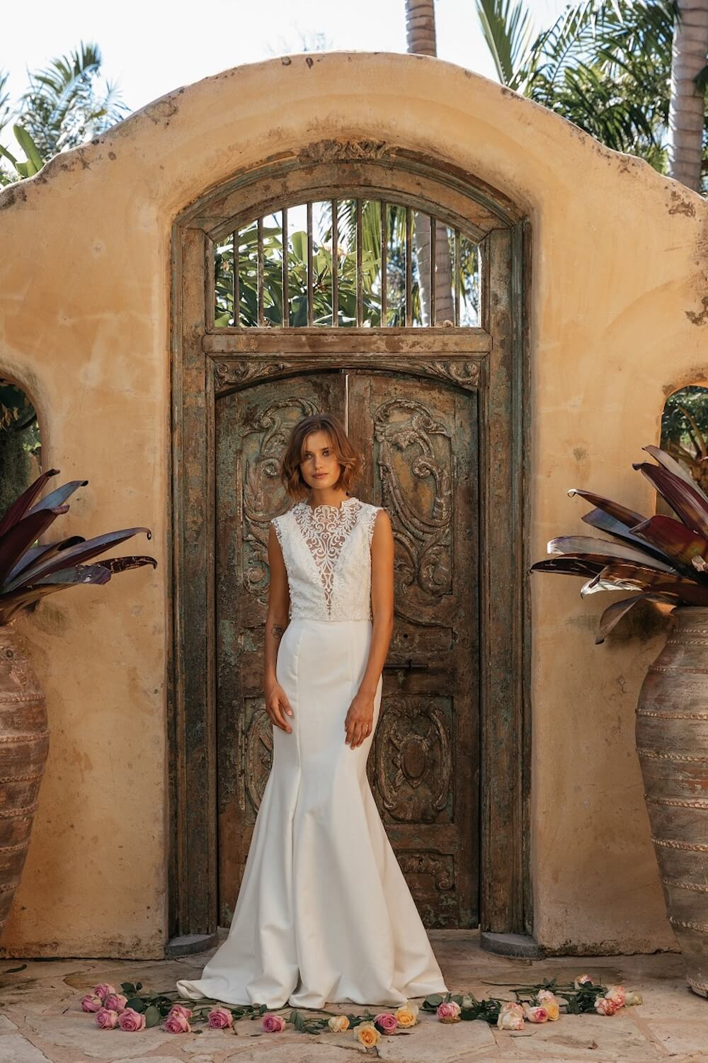 Reverie wedding dress by Jennifer Go Bridal featured on LOVE FIND CO.