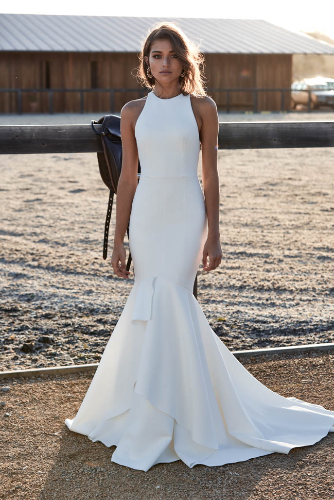 The Queen wedding dress by Chosen by One Day featured on LOVE FIND CO.