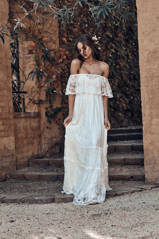Franca Wedding Dress | ICON by Grace Loves Lace featured on LOVE FIND CO.