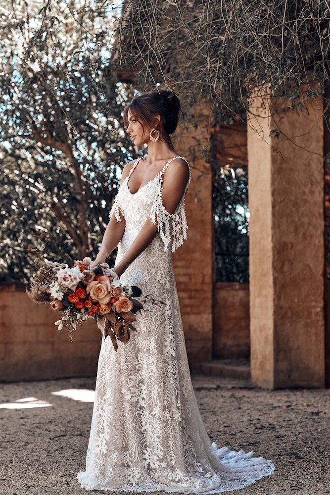 Sol Wedding Dress | ICON by Grace Loves Lace featured on LOVE FIND CO.