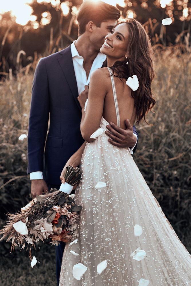 Menha Wedding Dress | ICON by Grace Loves Lace featured on LOVE FIND CO.