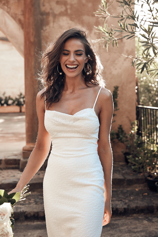 Lake Wedding Dress | ICON by Grace Loves Lace featured on LOVE FIND CO.