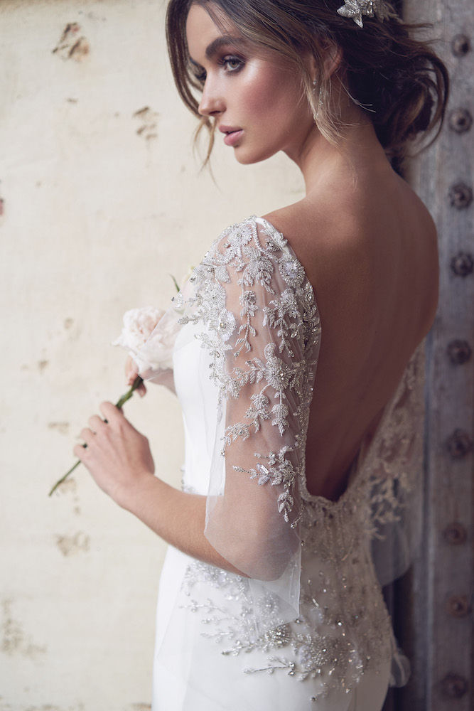 Eva wedding dress by Anna Campbell features on LOVE FIND CO.
