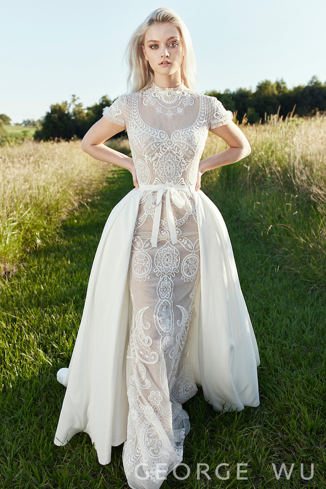 Landriana Wedding Dress by George Wu featured on LOVE FIND CO.