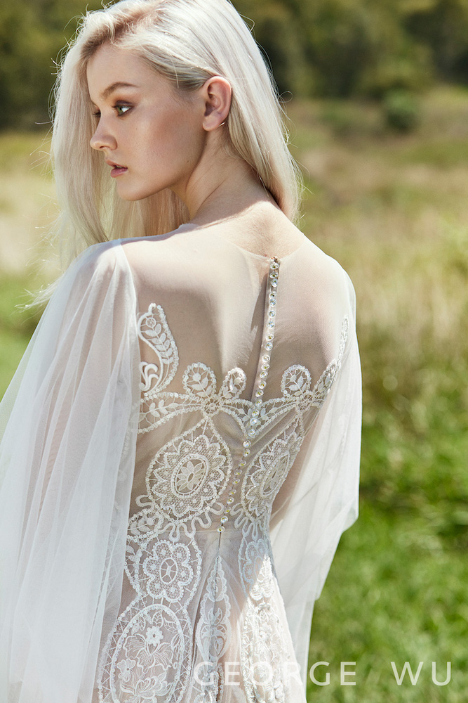 Augustus Wedding Dress by George Wu featured on LOVE FIND CO.