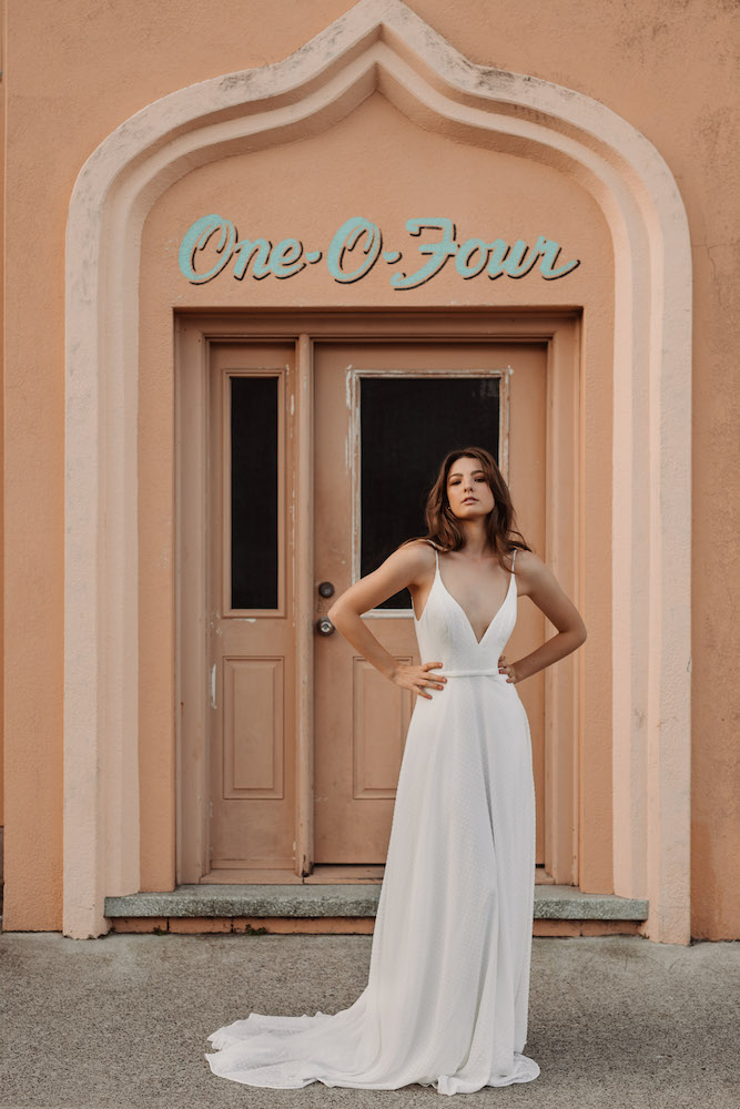 The Cassia wedding dress by Daisy by Katie Yeung featured on LOVE FIND CO.