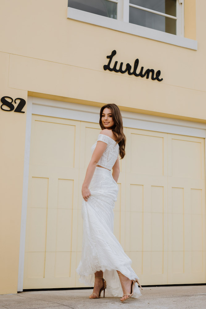 Marguerite wedding dress by Daisy by Katie Yeung featured on LOVE FIND CO.