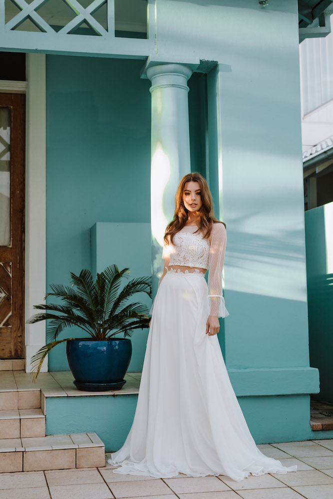 Azami wedding dress by Daisy by Katie Yeung featured on LOVE FIND CO.