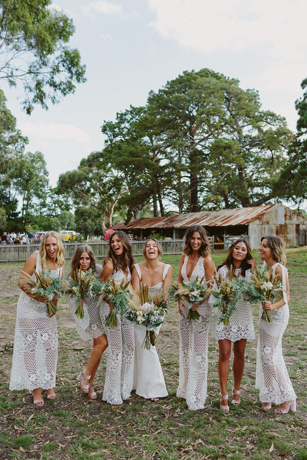 Lace Jumpsuit Bridesmaid Look featured on LOVE FIND CO.