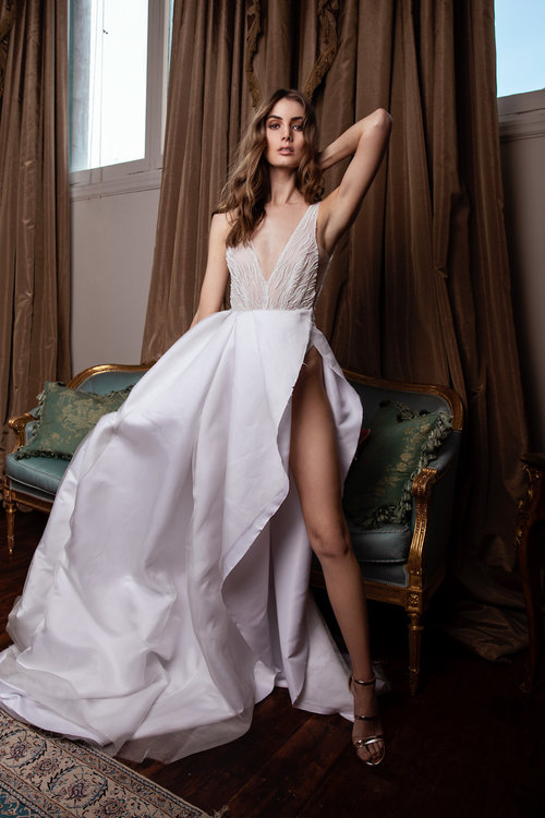 Marquise Bridal Statement Gown on LOVE FIND CO.