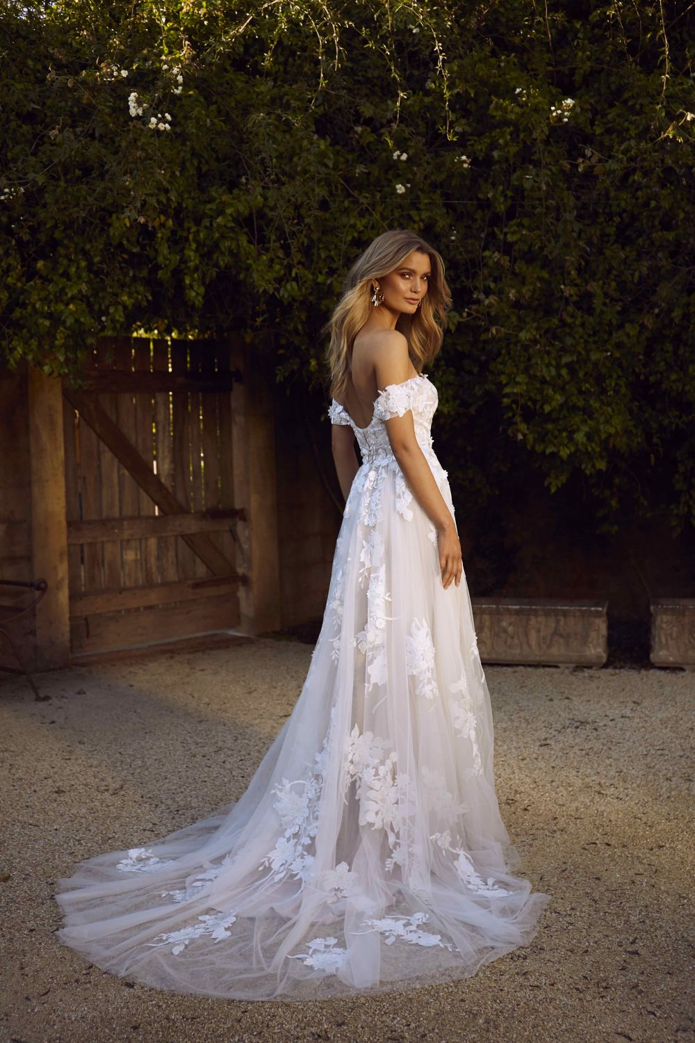Madi Lane Bridal Tulle Gown on LOVE FIND CO.
