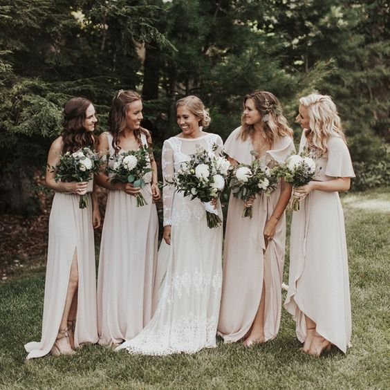 Bridesmaid Dresses for pregnant bridesmaids featured on LOVE FIND CO