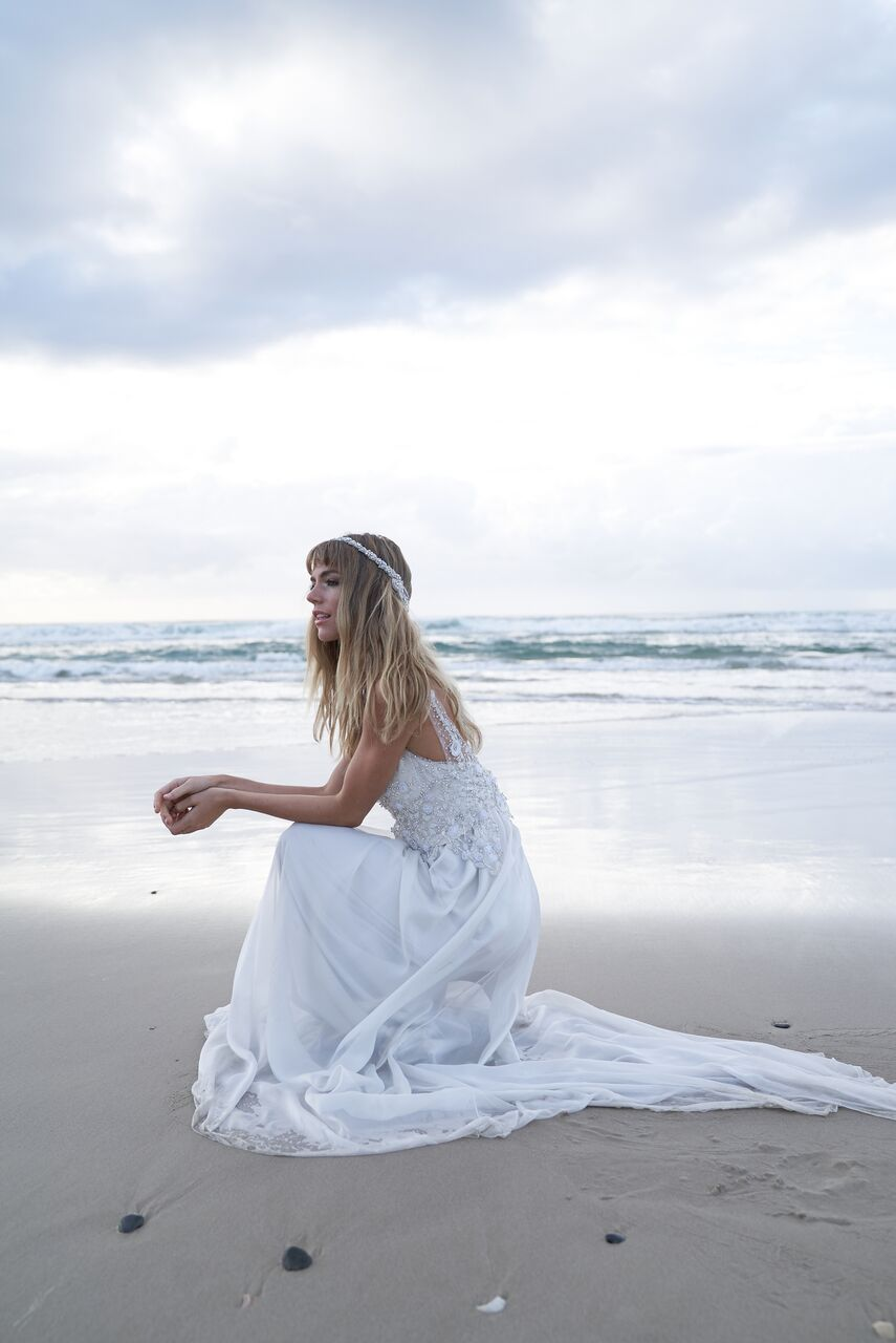 Aria wedding dress from the Anna Campbell Wanderlust Collection exclusively featured on LOVE FIND CO.
