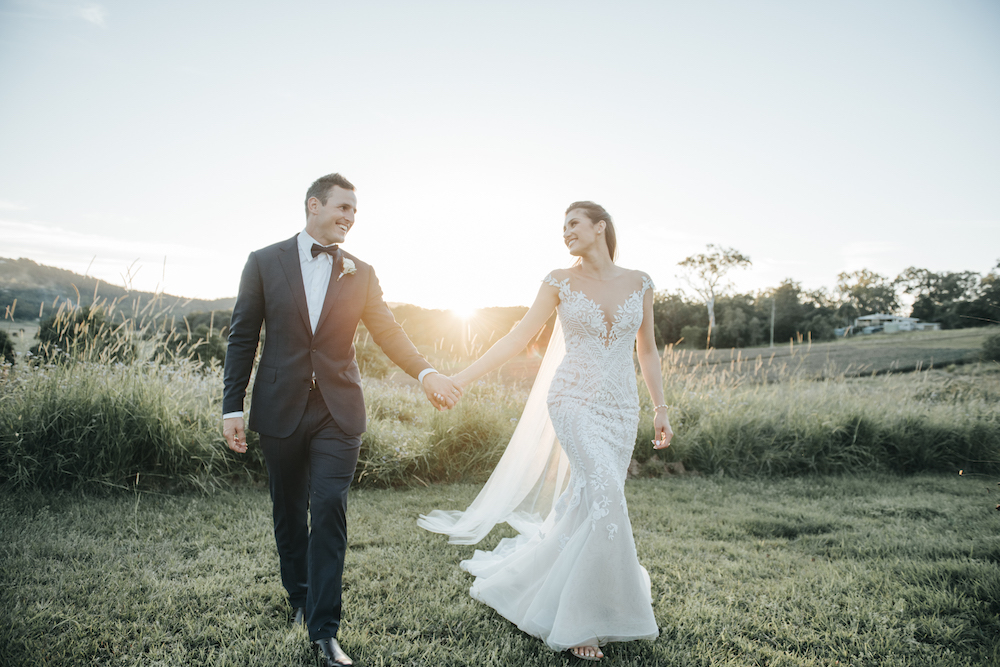 Courtney & Michael's wedding featured on LOVE FIND CO.