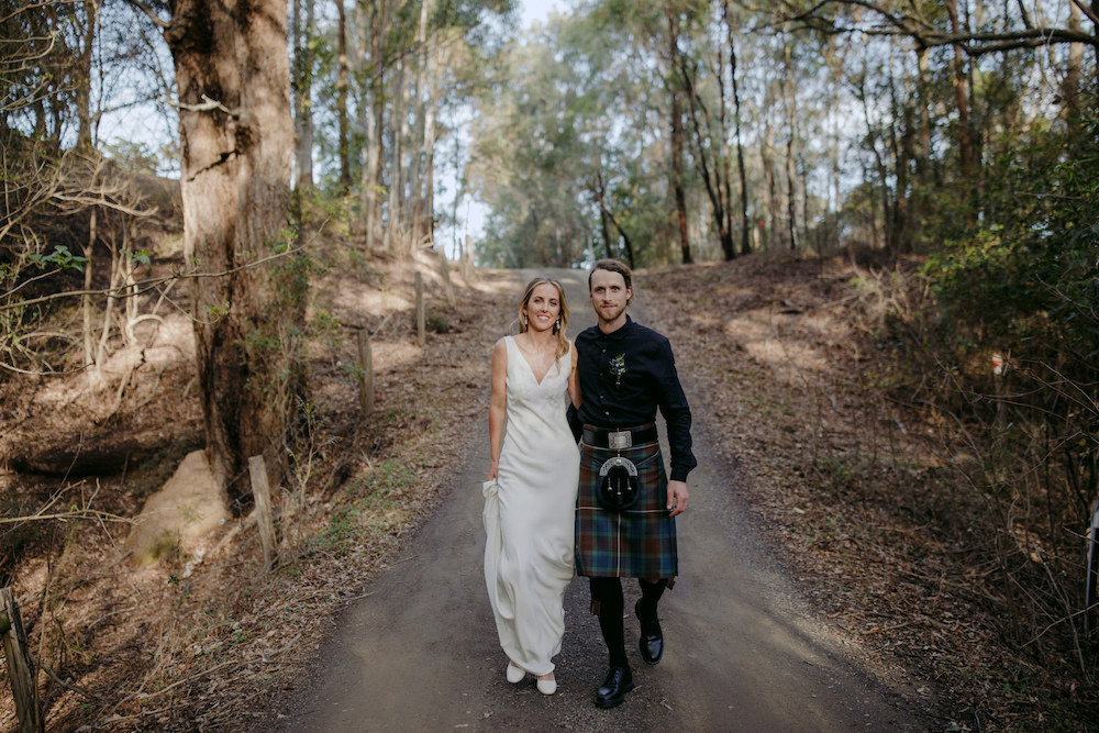 Ashley & Oliver's wedding featured on LOVE FIND CO.