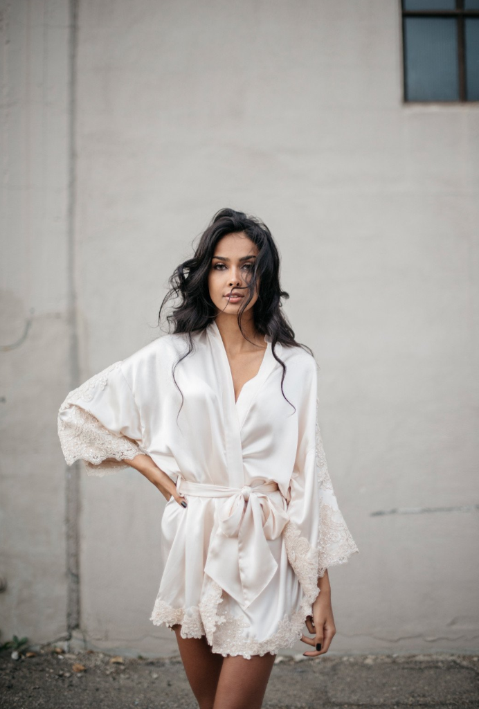 The Ilisha Robe by Daphne Newman featured on LOVE FIND CO.