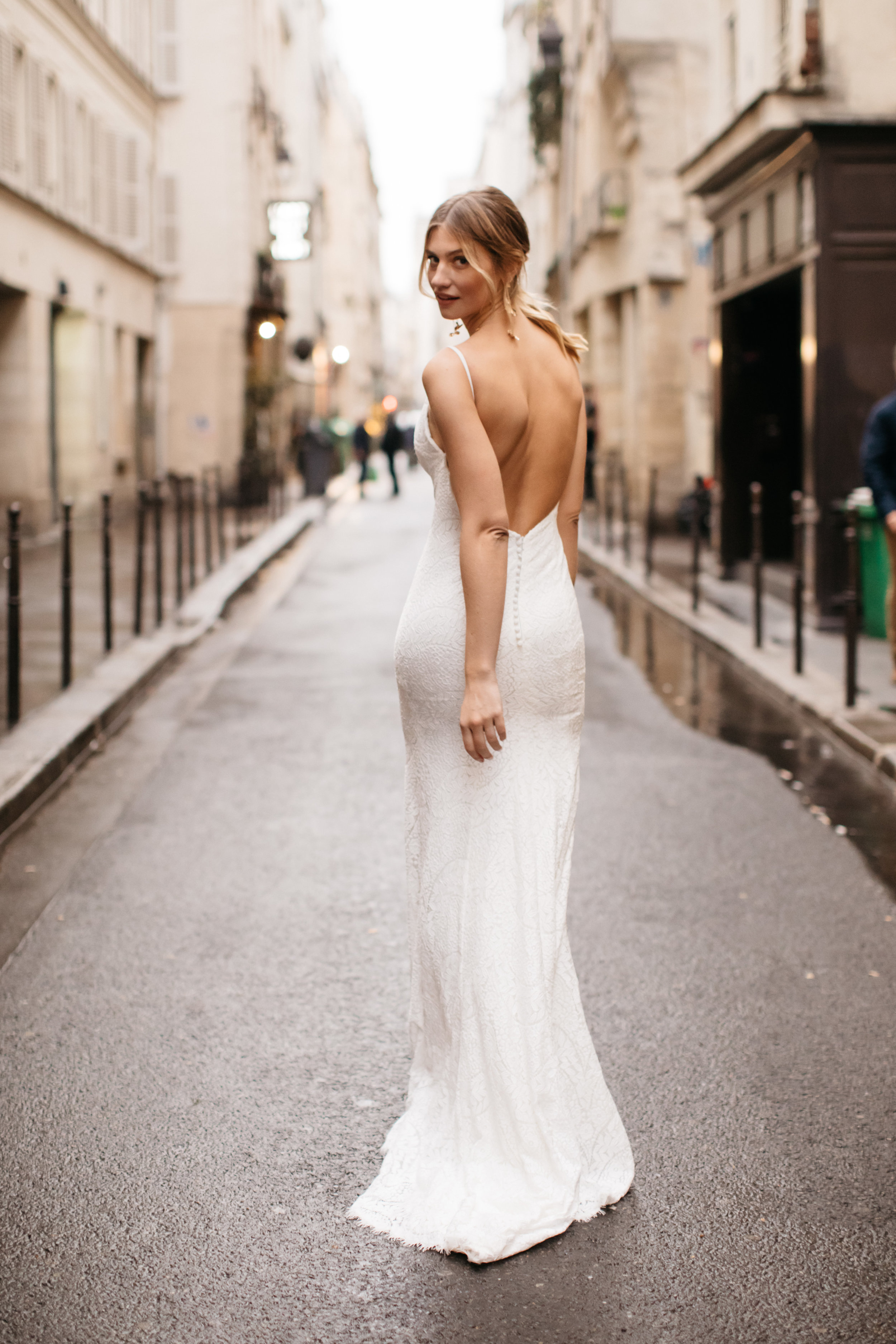 Daisy Brides shot in Paris by LOVE FIND CO.