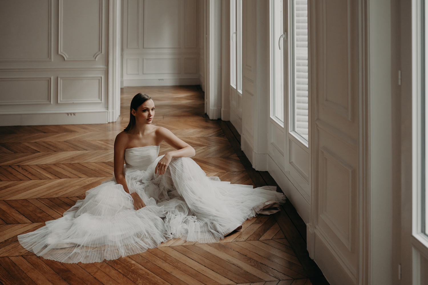 Love Find Co. Parisian Bridal Editorial featuring One Day Bridal