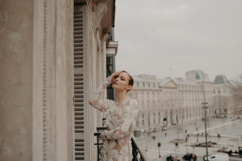 Love Find Co. Parisian Bridal Editorial featuring Naem Khan