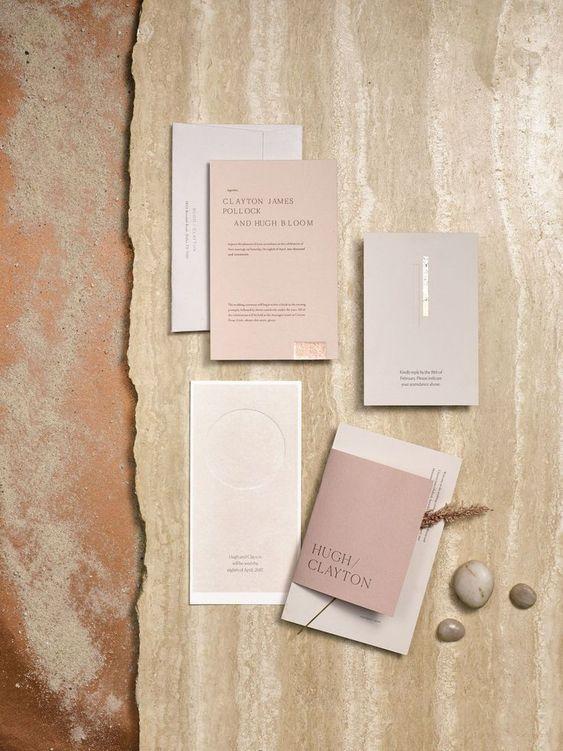 Modern Minimalist Wedding Inspiration on LOVE FIND CO.