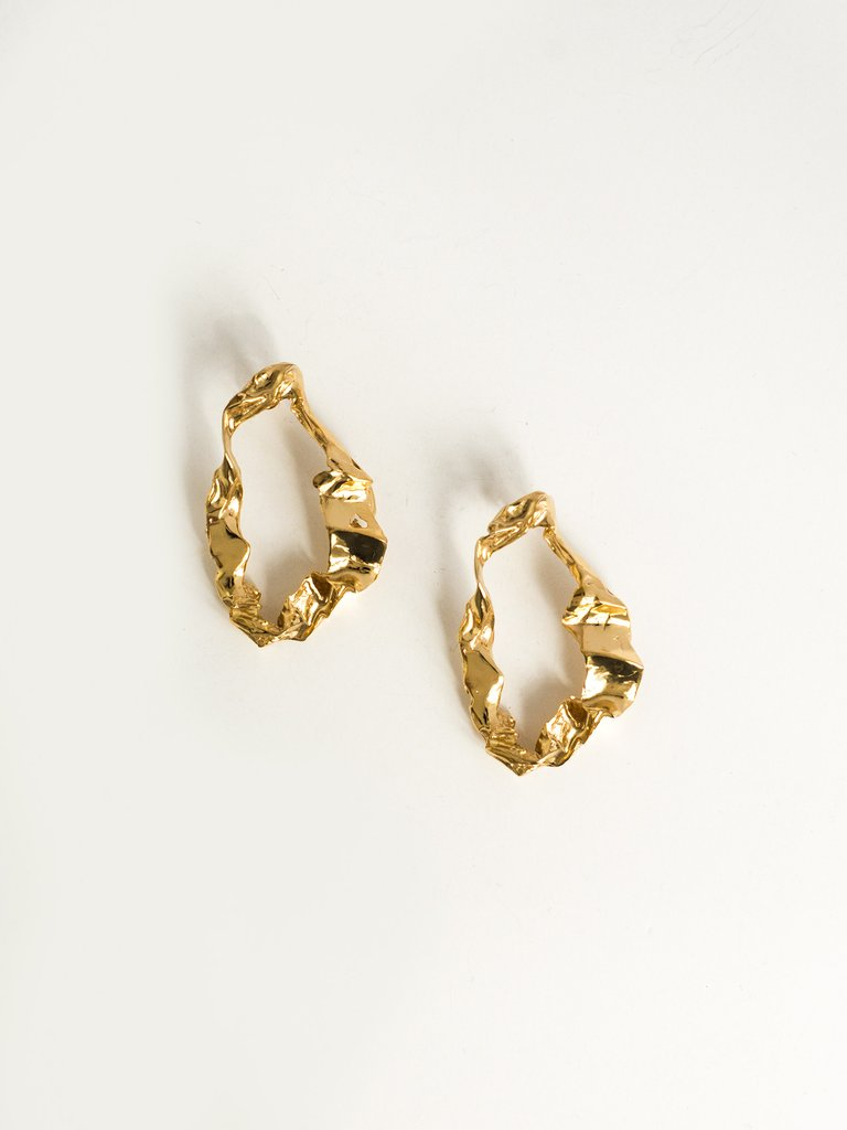 By Nye Agnes Earrings available at The UNDONE