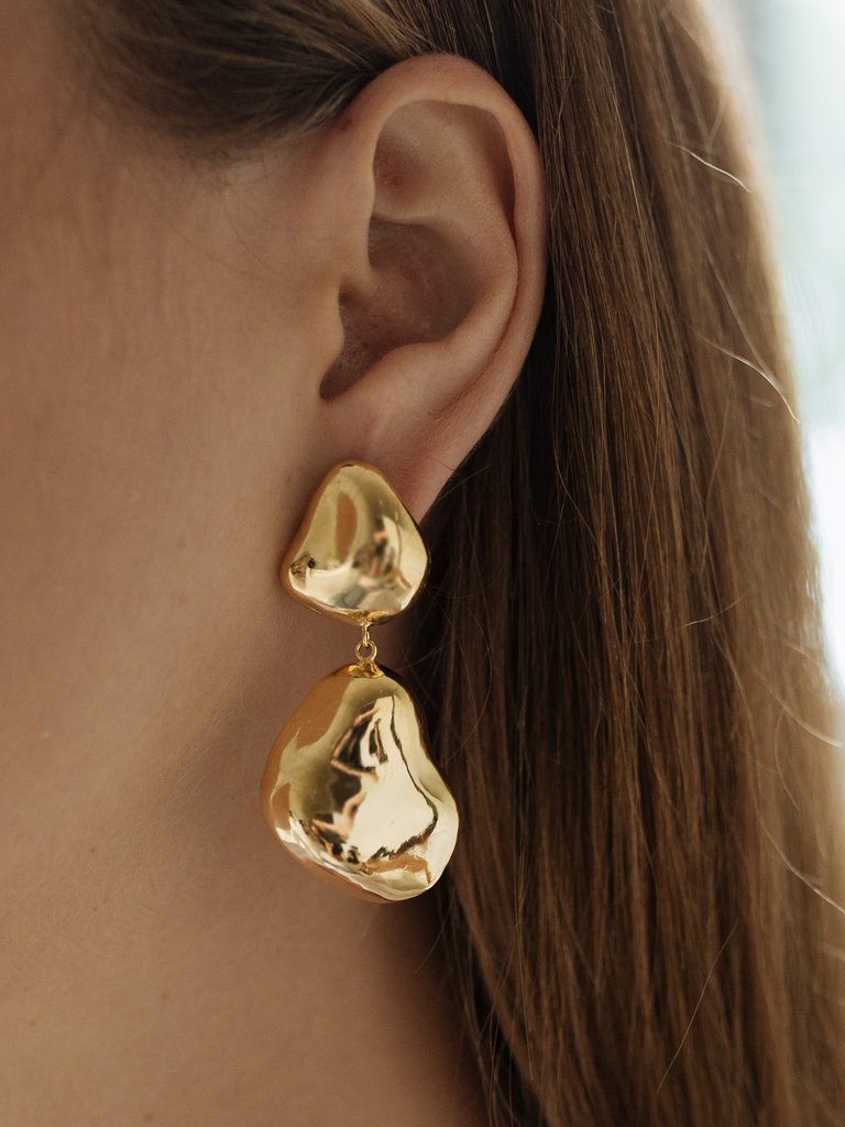 Lucid Earrings - By Nye available at The Undone