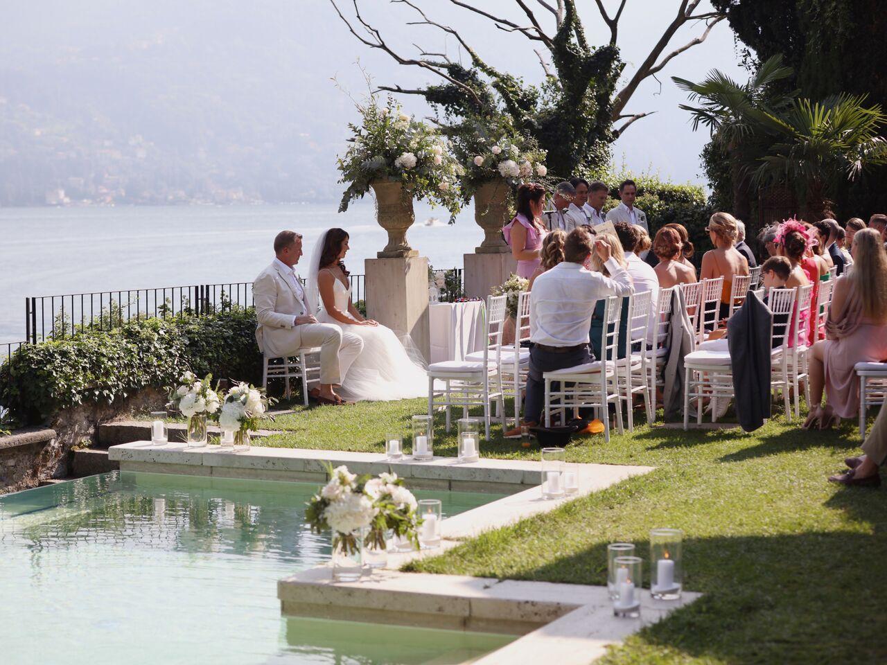Rachael & Duncan's Italian Wedding featured on LOVE FIND CO.