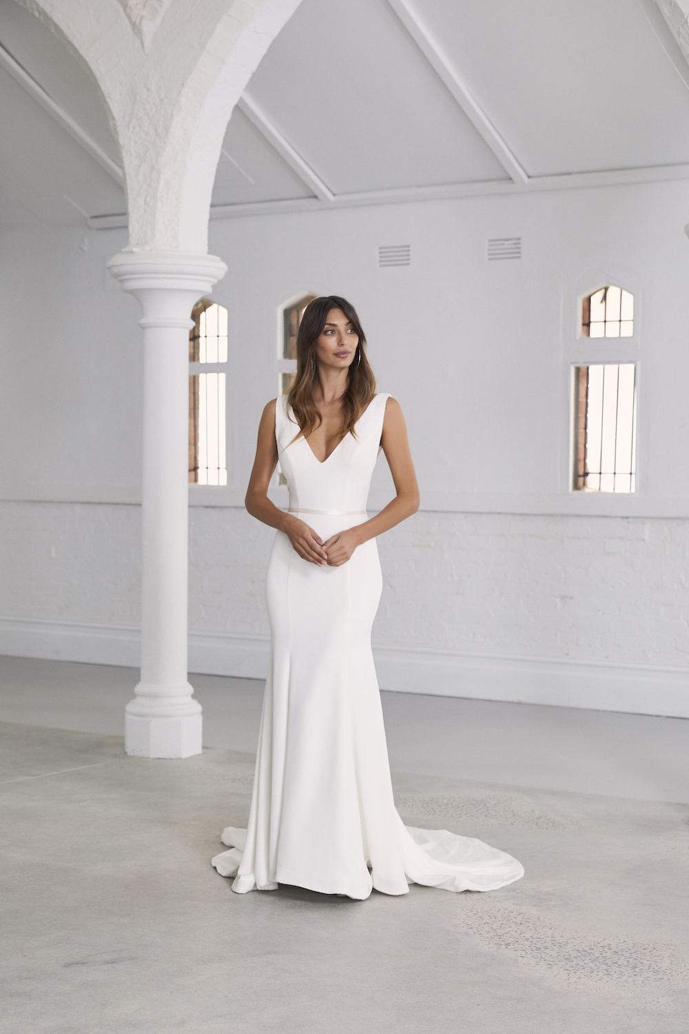 The Lita wedding dress by Amaline Vitale featured on LOVE FIND CO.