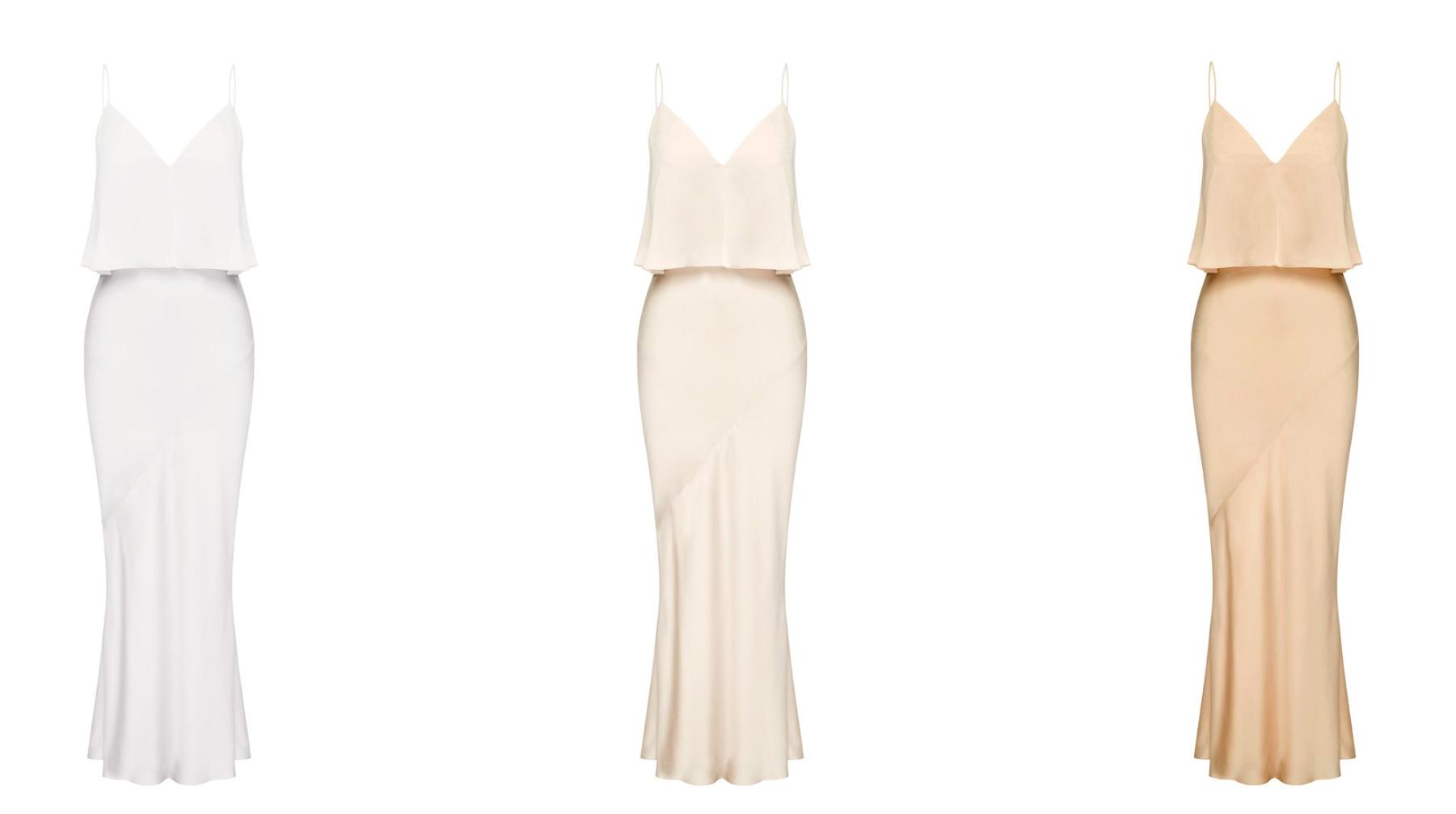 LUXE BIAS FRILL SLIP DRESS - SHONA JOY featured on LOVE FIND CO.