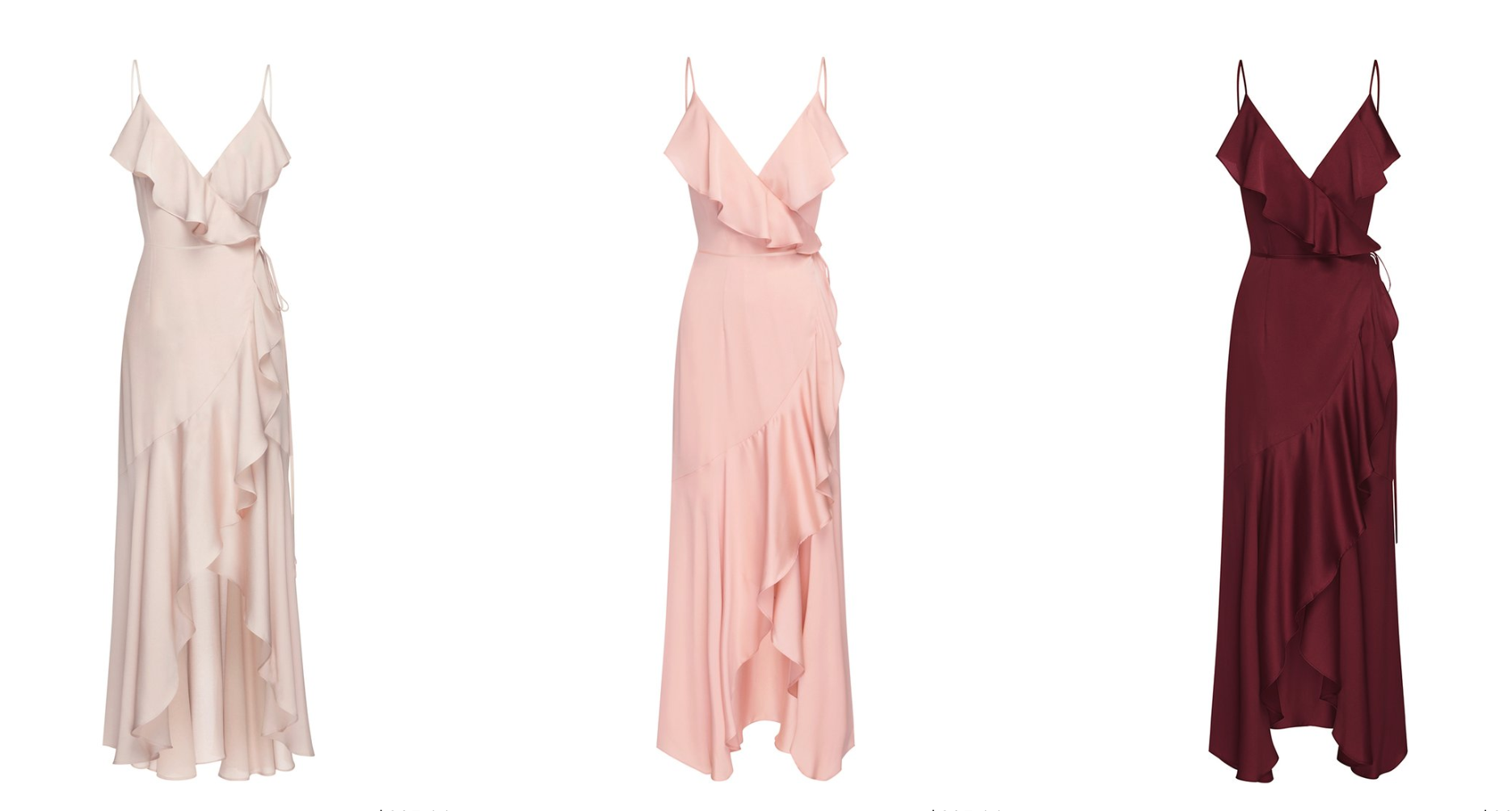 LUXE BIAS FRILL WRAP DRESS - Shona Joy featured on LOVE FIND CO.