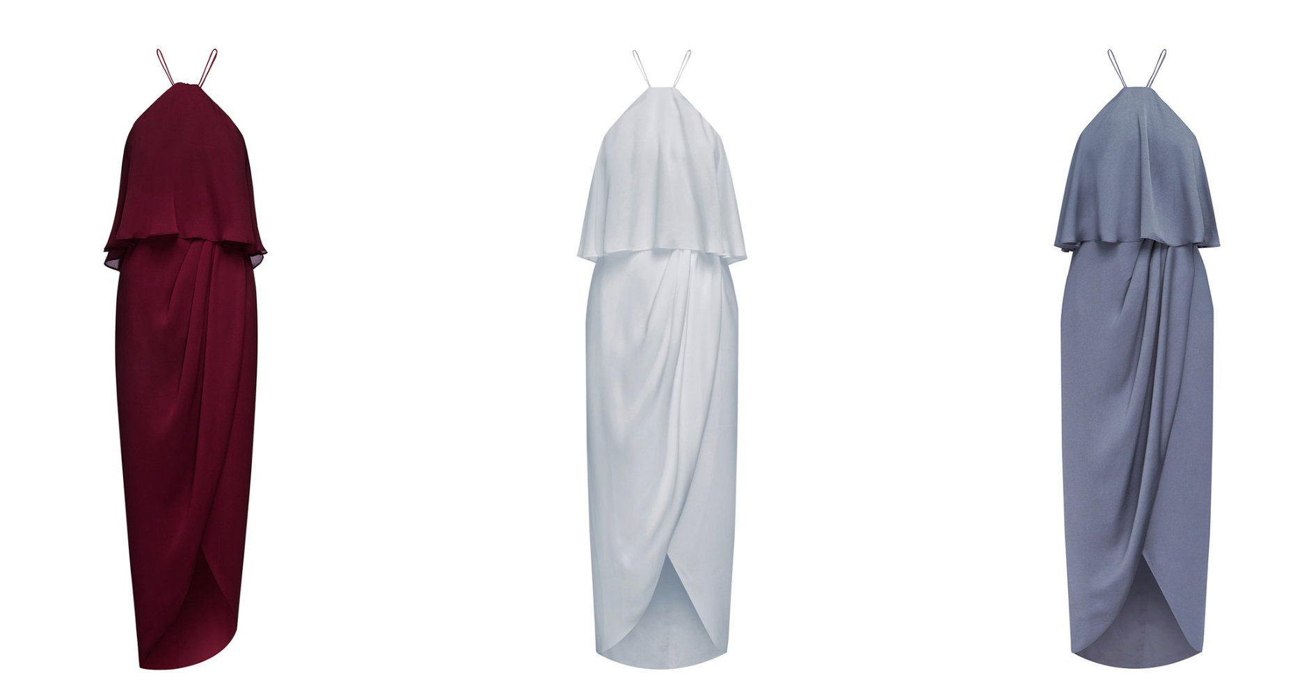 LUXE HALTER FRILL DRESS - Shona Joy featured on LOVE FIND CO.