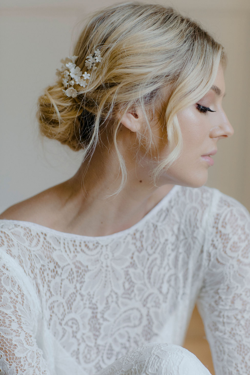 CHERRY BLOSSOM WEDDING HAIR PIECES by TANIA MARAS featured on LOVE FIND CO.