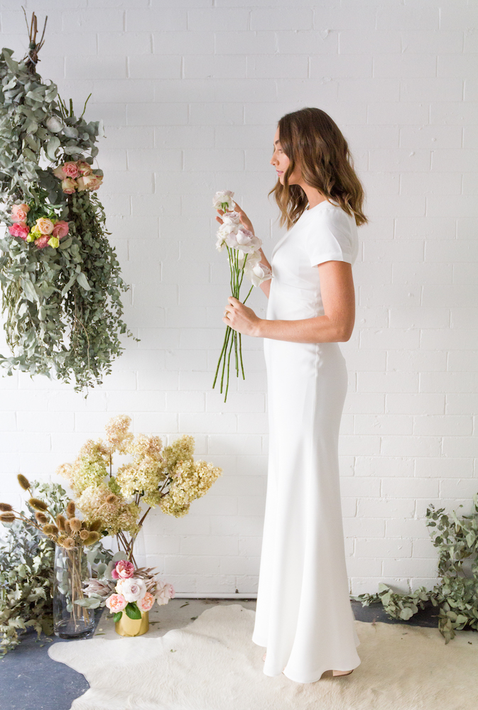 The Tee Slip Gown from the TRUE Collection by Fiona Claire featured on LOVE FIND CO.